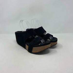 Volatile Slide Comfort Wedge Sandals Women's Sz 8